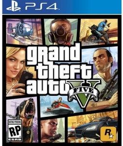 Grand Theft Auto V Playstation 4 Oyunu