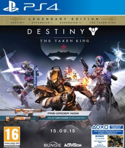 Destiny The Taken King Legendary Edition Playstation 4 Oyunu