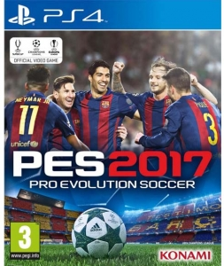 PES 2017 Playstation 4 Oyunu
