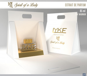 LYKE EXCLUSIVE - SPIRIT OF A LADY FOR WOMEN EXTRAIT THE PARFUM